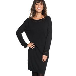 Roxy Expression of Nature Long Sleeve V Dress XS